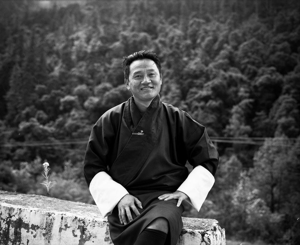 Portrait of Tsherng